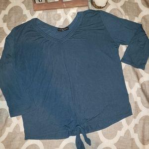 Kim & Cami 1/4 Sleeve Shirt